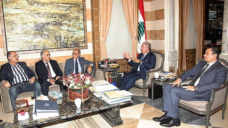 """""""اللقاء الديمقراطي"""" زار المشنوق: لتحمل كل القوى مسؤولياتها في ملف الليطاني"""