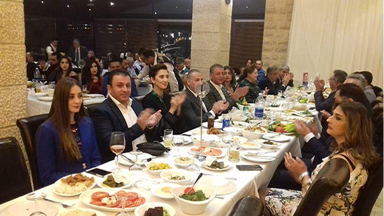 "حفل عشاء جامع لـ""التقدمي"" فرع بشتفين بحضور داليا جنبلاط"