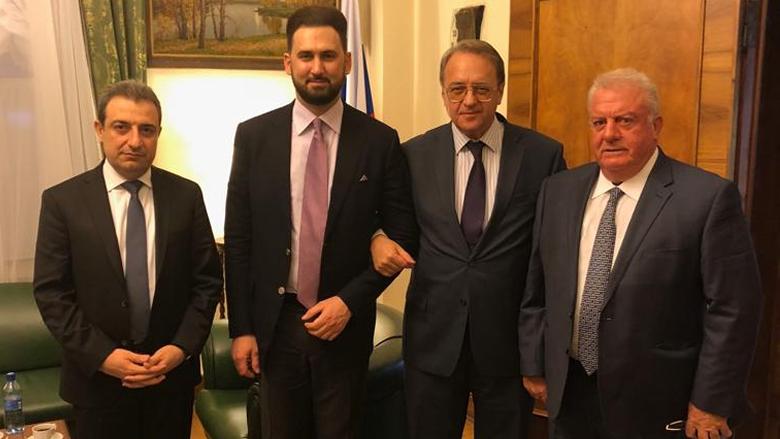 الخارجية الروسية: بوغدانوف التقى تيمور جنبلاط وتم التركيز على تشكيل الحكومة في أقرب فرصة