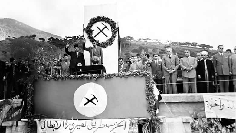 ماذا قال كمال جنبلاط في عيد تأسيس الحزب سنة 1967؟
