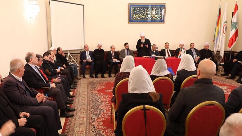 تيمور جنبلاط يشارك في إجتماع المجلس المذهبي... وتحذير من الوضع الإقتصادي