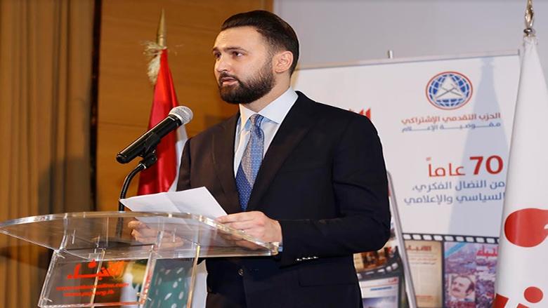 """كلمة النائب تيمور جنبلاط في حفل إطلاق الموقع الجديد لجريدة """"الأنباء"""""""