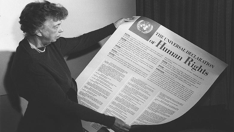 سبعون عاماً على شرعة حقوق الإنسان