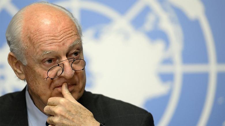 دي ميستورا يُحذر من تداعيات سحب الولايات المتحدة لقواتها من سوريا