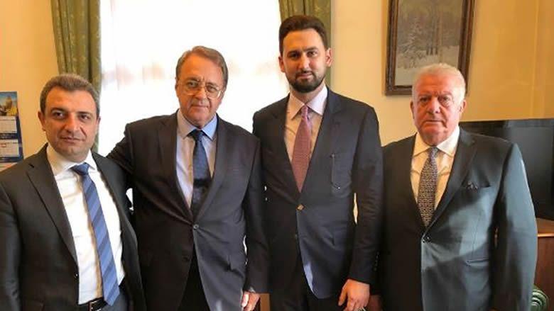 تيمور جنبلاط يلتقي بوغدانوف: تأكيد على الصداقة التاريخية مع موسكو