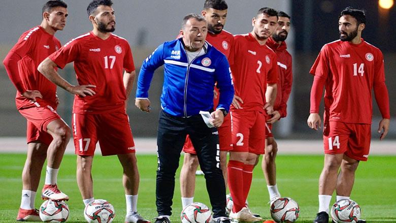 كأس آسيا: لبنان يختتم تحضيراته للمباراة امام السعودية في دبي