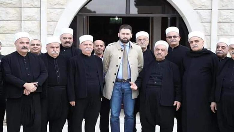 تيمور جنبلاط يزور رئيس مؤسسة العرفان ويؤكد إستمرار الدعم