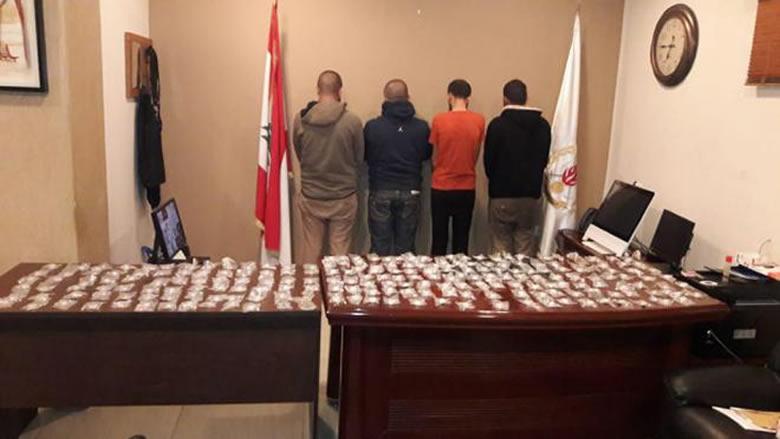 عصابة تروّج المخدرات في منطقتي كسروان وجبيل