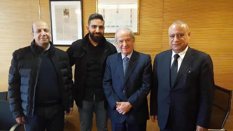 حماده استقبل المصور رامي رزق: رفع اسم لبنان الثقافة والفن في العالم