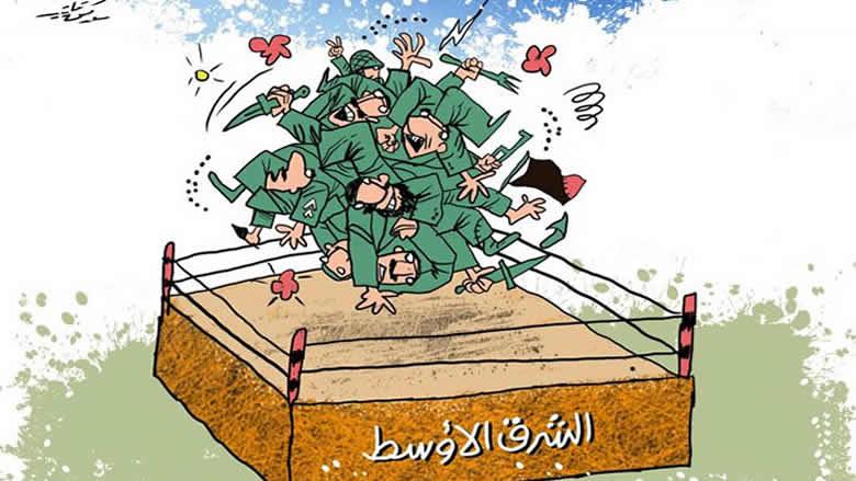 """""""ناشيونال انترست"""" تلخّص 40 عامًا من التدخل الأميركي في الشرق الأوسط"""