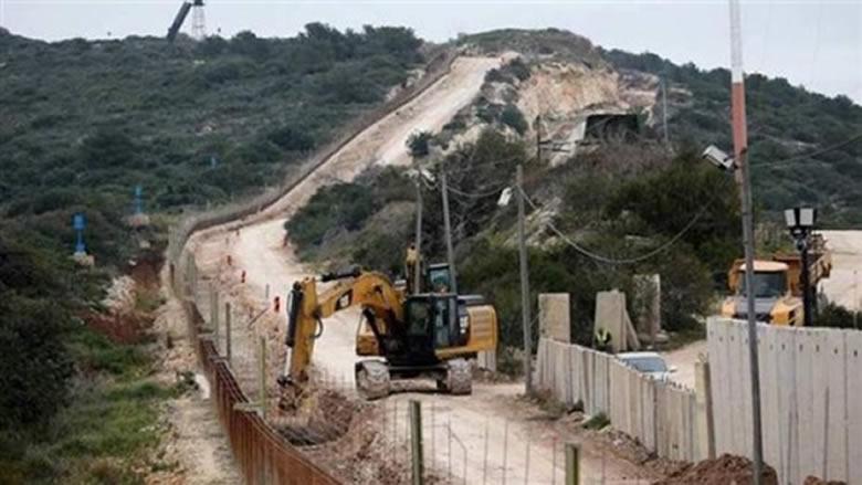 الجيش الاسرائيلي استأنف الأعمال على الحدود الجنوبية