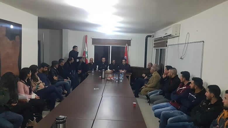 """لقاء تحضيري لمؤتمر """"الخريجين التقدميين"""" في راشيا والبقاع الغربي"""