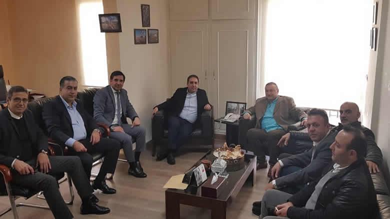 """ناصر إلتقى وفداً من """"حراك الأطباء"""": رفض الإجراءات القمعية وتأكيد على الحريات النقابية"""