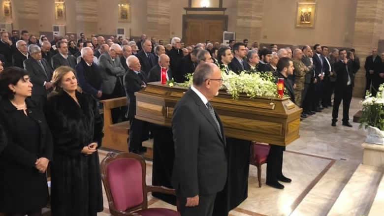 تشييع السيدة دلال مجلي والدة نائب رئيس الحزب كمال معوّض