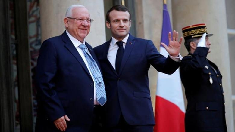 """كواليس لقاء ماكرون والرئيس الإسرائيلي: رسالة للبنان وهذا ما دار حول """"حزب الله"""""""
