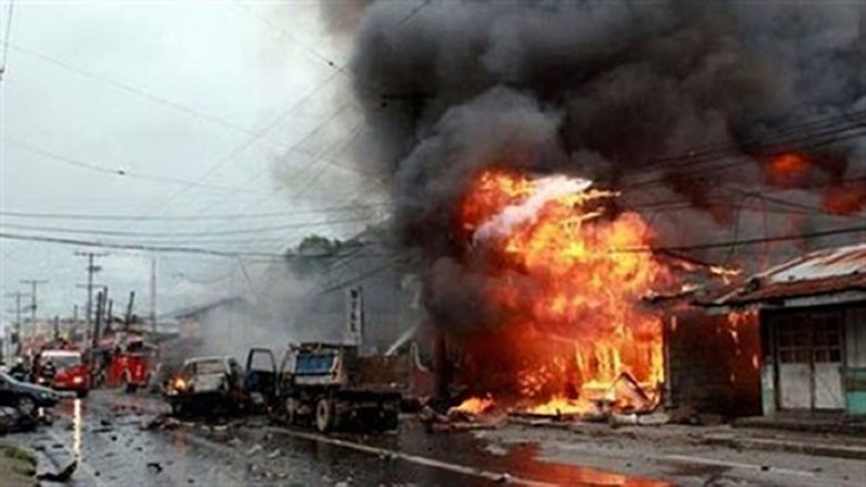 انفجار يستهدف كنيسة جنوب الفليبين