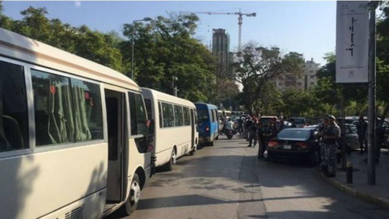 اعتصام لاتحادات النقل البري يوم الخميس