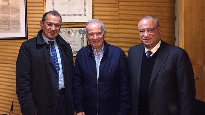 حماده استقبل عميد كلية الإعلام في اللبنانية