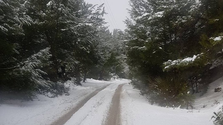 هذه الطرقات السالكة والمقفلة بسبب تراكم الثلوج