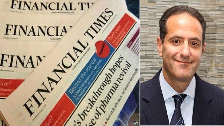 """""""الفايننشال تايمز"""" تعلن عن لبناني تبوأ منصبًا عالميًا... من هو ميشال عباس خلف؟"""
