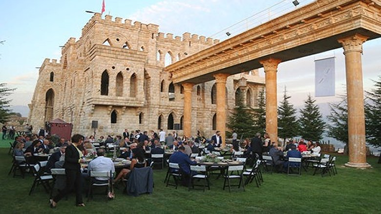 تكريم سفير منظمة فرسان مالطا في قلعة شير الروم - شارون