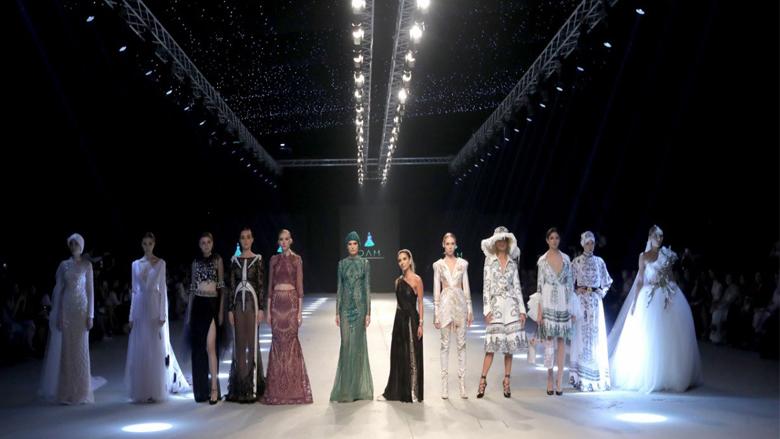 كيف كان عرض أزياء دانا المصري في بيروت؟