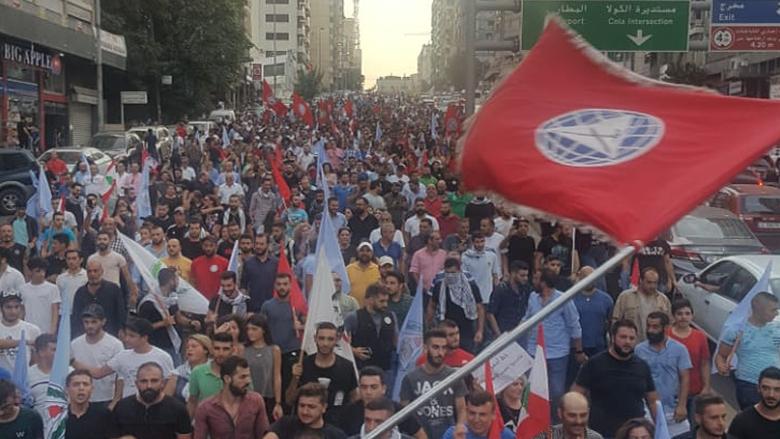 """#فيديو_الانباء: هكذا قرأ إعلاميون مسيرة """"التقدمي"""" الضخمة"""