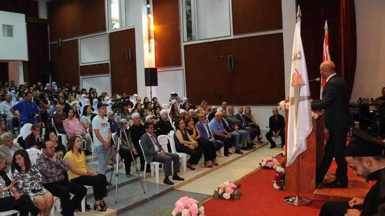 ثانوية المختارة الرسمية خرجت طلابها برعاية تيمور جنبلاط