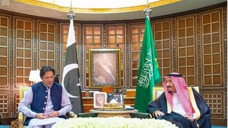رئيس الوزراء الباكستاني يزور الرياض ويلتقي الملك سلمان وولي العهد