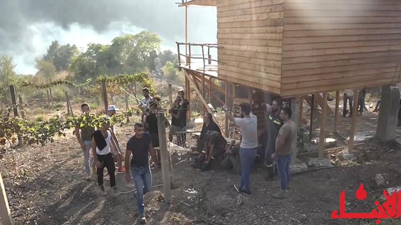 """#فيديو_الأنباء: """"التقدمي"""" إلى جانب الناس... هكذا واكب شبابه الإغاثة والاطفاء"""