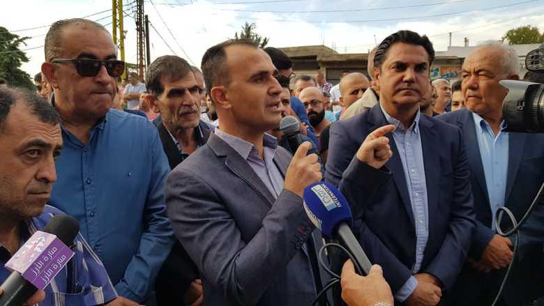 """تظاهرة شعبية حاشدة في راشيا بدعوة من """"التقدمي"""" رفضا لسياسات العهد"""