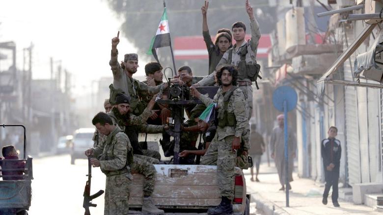 الخرائط المتحركة للنفوذ في الشمال السوري