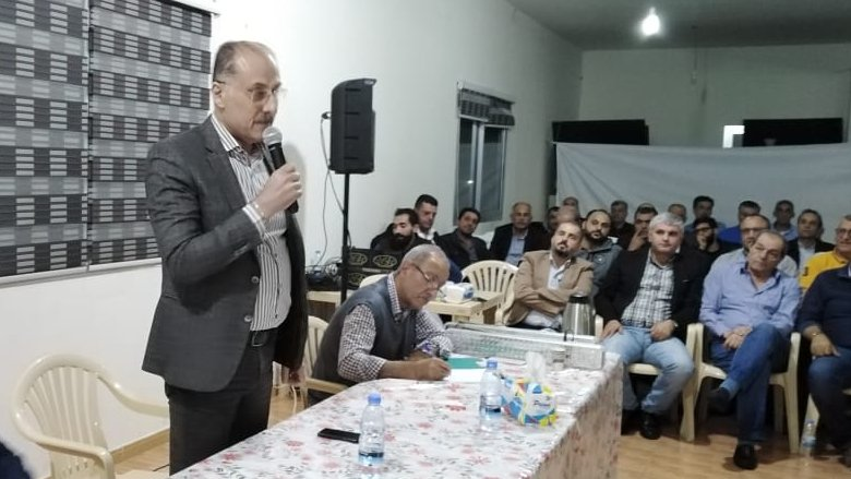 عبدالله من الجمعية العمومية في بعقلين: كلنا ثقة بحكمة وليد جنبلاط