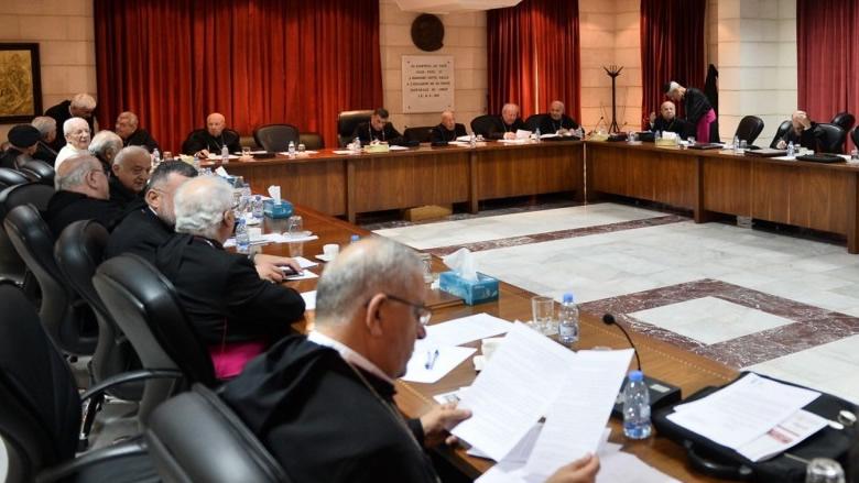 المطارنة الموارنة: لتلقف استقالة الحكومة والالتفاف حول رئيس الجمهورية