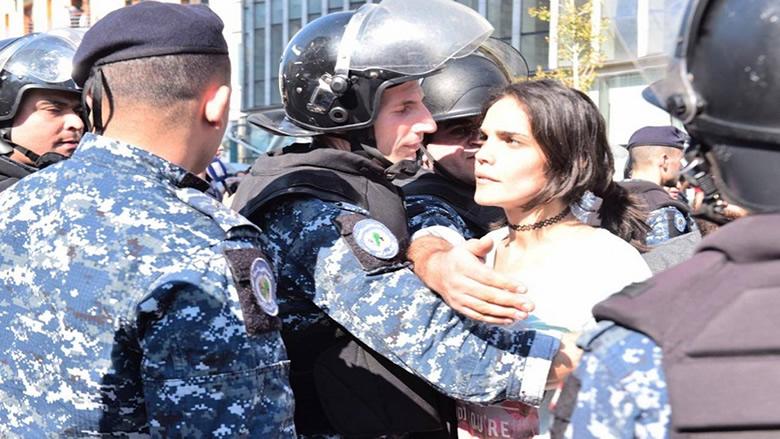 ثورة المرأة اللبنانية