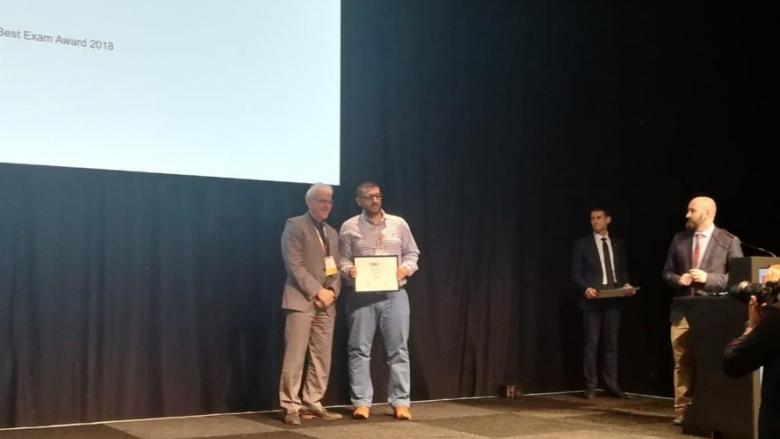 طبيب يحقق إنجازاً جديداً للبنان... وجائزة تقدير في امتحان اللجنة الأوروبية للاورام السرطانية