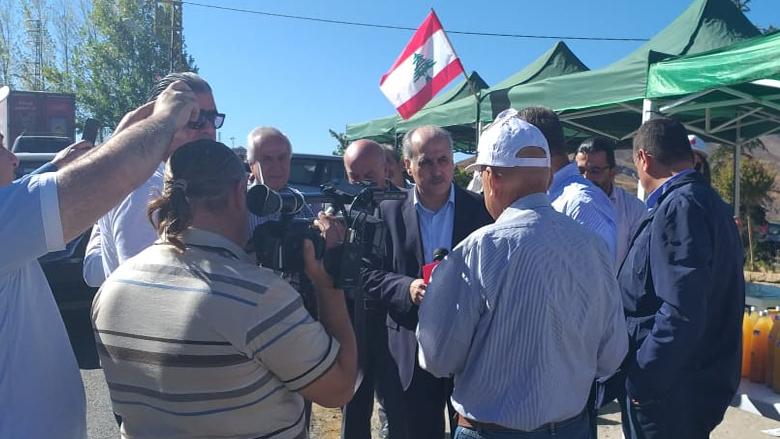 أبو الحسن في يوم التفاح اللبناني: لحماية المزارع وتصريف إنتاجه