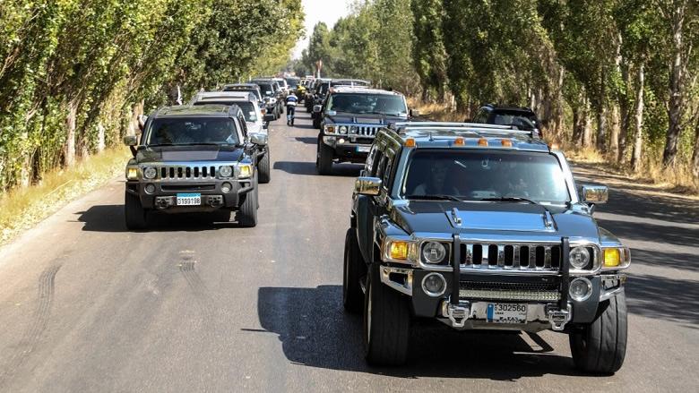 أندية رياضة السيارات زارت راشيا في يوم الدبس بمشاركة دايفد فرام