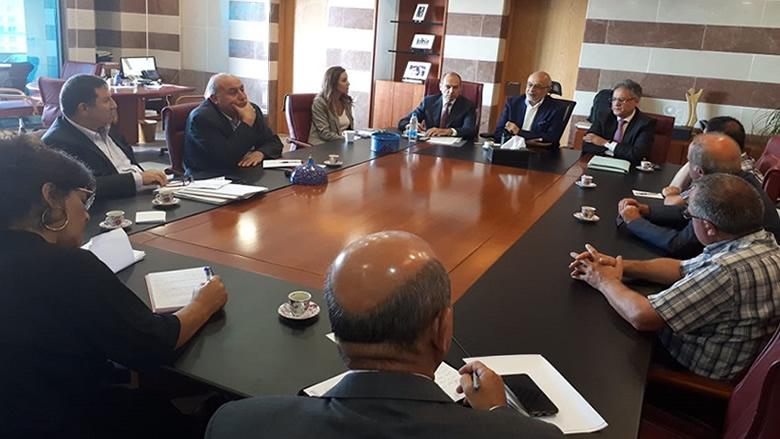 شهيب تابع مطالب رابطة متفرغي اللبنانية