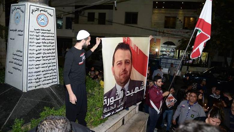 بالصور: اضاءة شموع وتحية للشهيد أبو فخر من حاصبيا