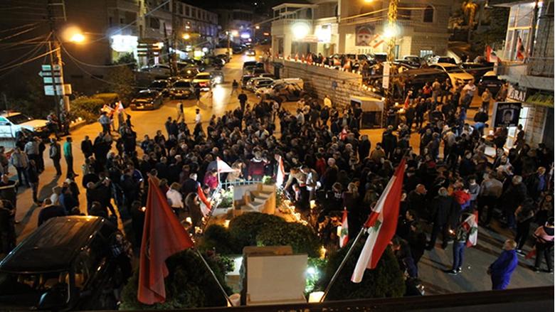 التقدمي المتن يُحيي الشهيد علاء ابو فخر بمسيرة شموع