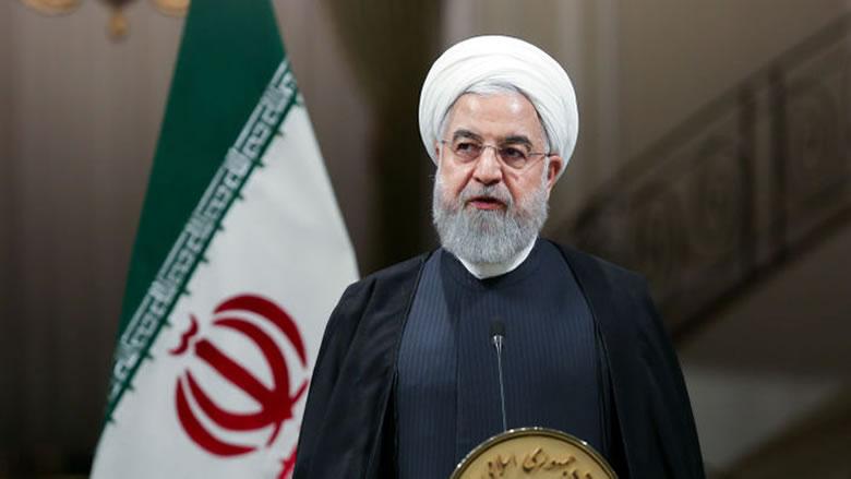 """روحاني يتهم أميركا بـ""""السعي لتحويل مظاهرات لبنان الى حرب داخلية"""""""