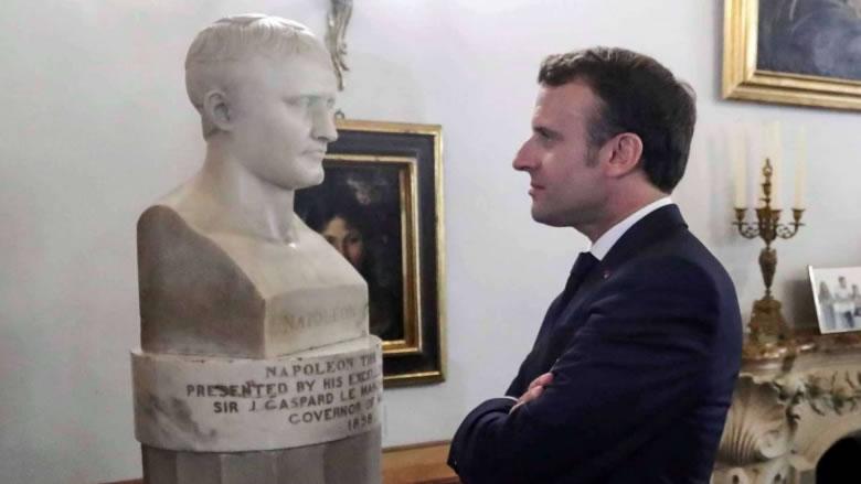 """ماكرون """"بونابرت"""" والكسوف الأوروبي في العلاقات الدولية"""