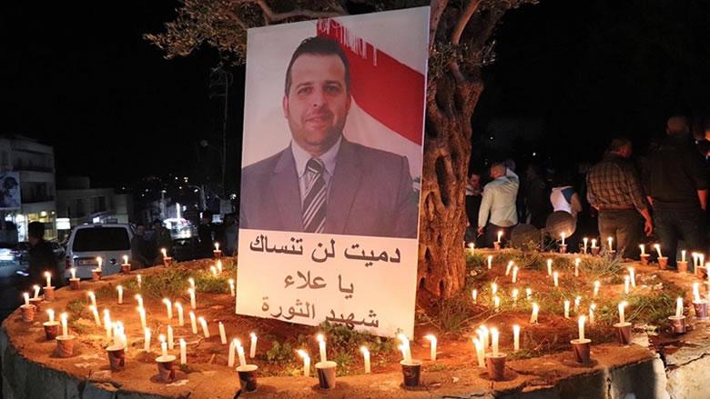 إضاءة شموع وإطلاق مناطيد في الشوف في أسبوع الشهيد علاء أبو فخر