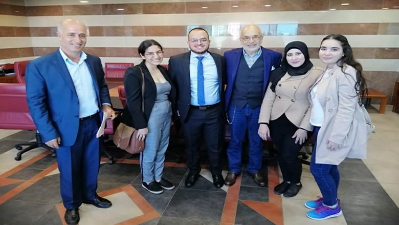 شهيب استقبل طلاب اللبنانية الممنوحين للدراسة في كندا