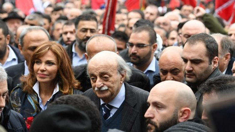 Walid Jumblatt says he wants Lebanon revolution to succeed in ousting Government in Beirut