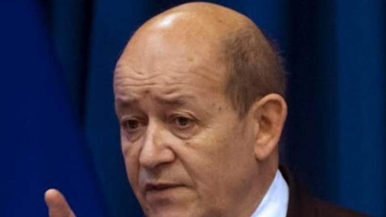 """لودريان: على السلطات اللبنانية أن """"تتحرّك"""" حيال الأزمة"""