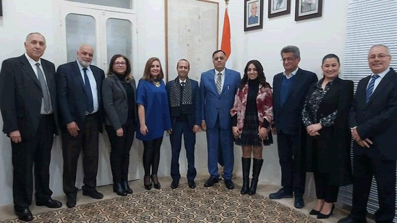 سفير الهند أكد دعم طلاب لبنان والتعاون مع مؤسسة وليد جنبلاط الجامعية