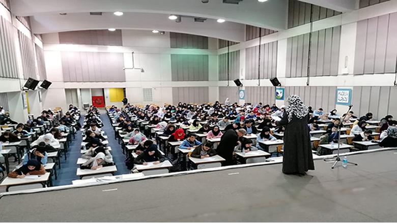 طلاب لبنان يشاركون في مسابقة الإملاء العربي والتعبير الكتابي