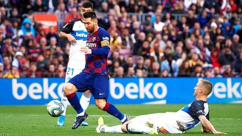 برشلونة بنتفض من نكسة الكلاسيكو بفوز عريض في الليغا